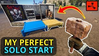 Gambar cover RUST SOLO - A PERFECT RUST SOLO START To A NEW WIPE! (Part 1)