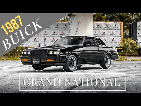 Testing The G-Force On A Low-Mileage 1987 Grand National [4k]   REVIEW SERIES