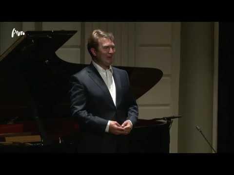 Schubert: Die schöne Müllerin - Thomas Oliemans & Malcolm Martineau - Live concert HD