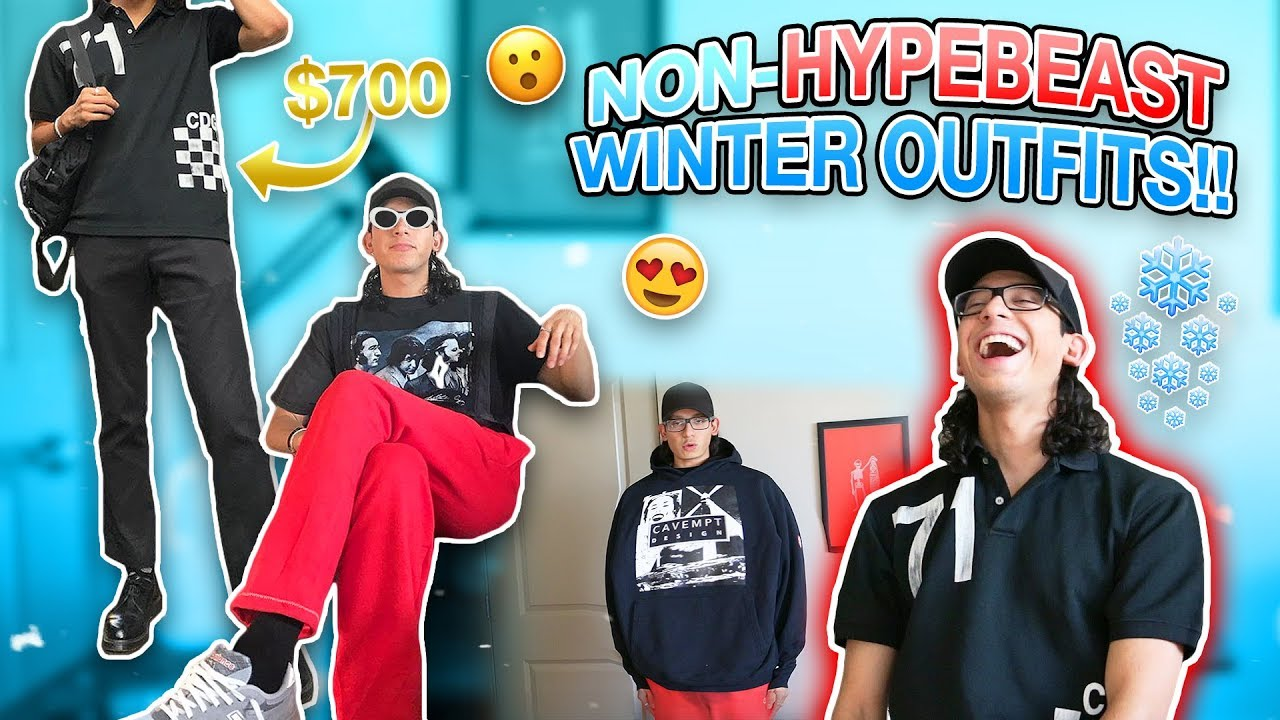 [VIDEO] - $700 NON HYPEBEAST WINTER STREETWEAR OUTFITS!! 2