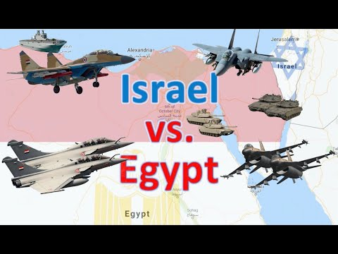 Israel Vs. Egypt: Who Would Win A Total War For The Sinai Today?