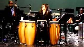 Annette Aguilar and Stringbeans at Lehman College - Latin Jazz Alive n Kickin clip