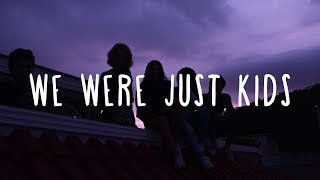 Clean Bandit ~ We Were Just Kids (Lyrics) ft. Craig David & Kirsten Joy Video