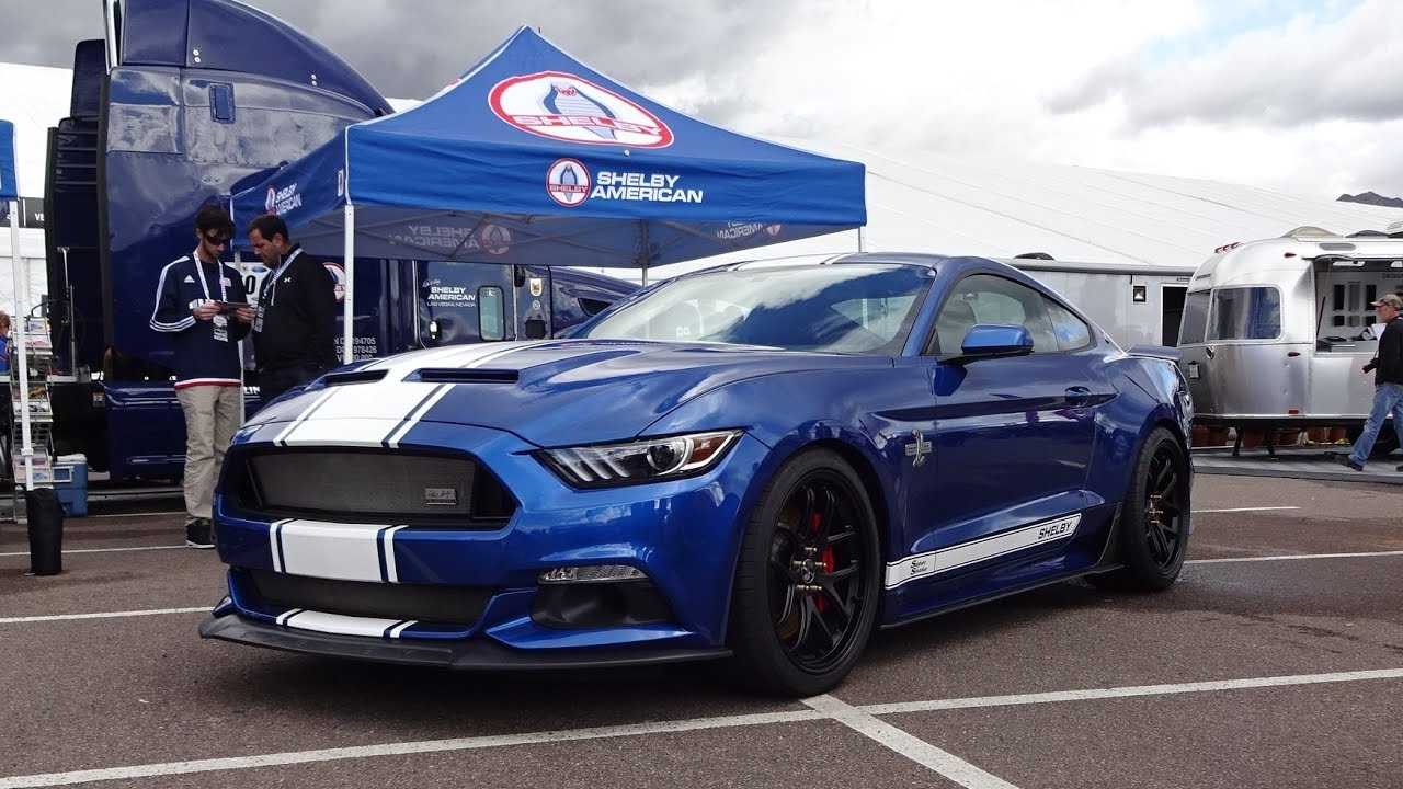Super Snake Shelby Mustang 2017 Ford In Blue Engine Sound On My Car Story With Lou Coile You