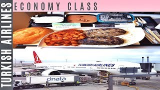 Turkish Airlines ECONOMY CLASS London to Istanbul|Boeing 777-300ER