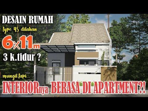 Desain Rumah Minimalis Dengan Tempat Usaha desain rumah 7x14 m sekaligus tempat usaha laundry youtube