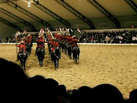 Royal Canadian Mounted Police Musical Ride (Part 1)