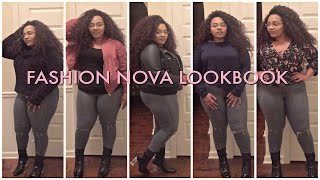 *Plus Size Fall Lookbook |Featuring Fashion Nova*