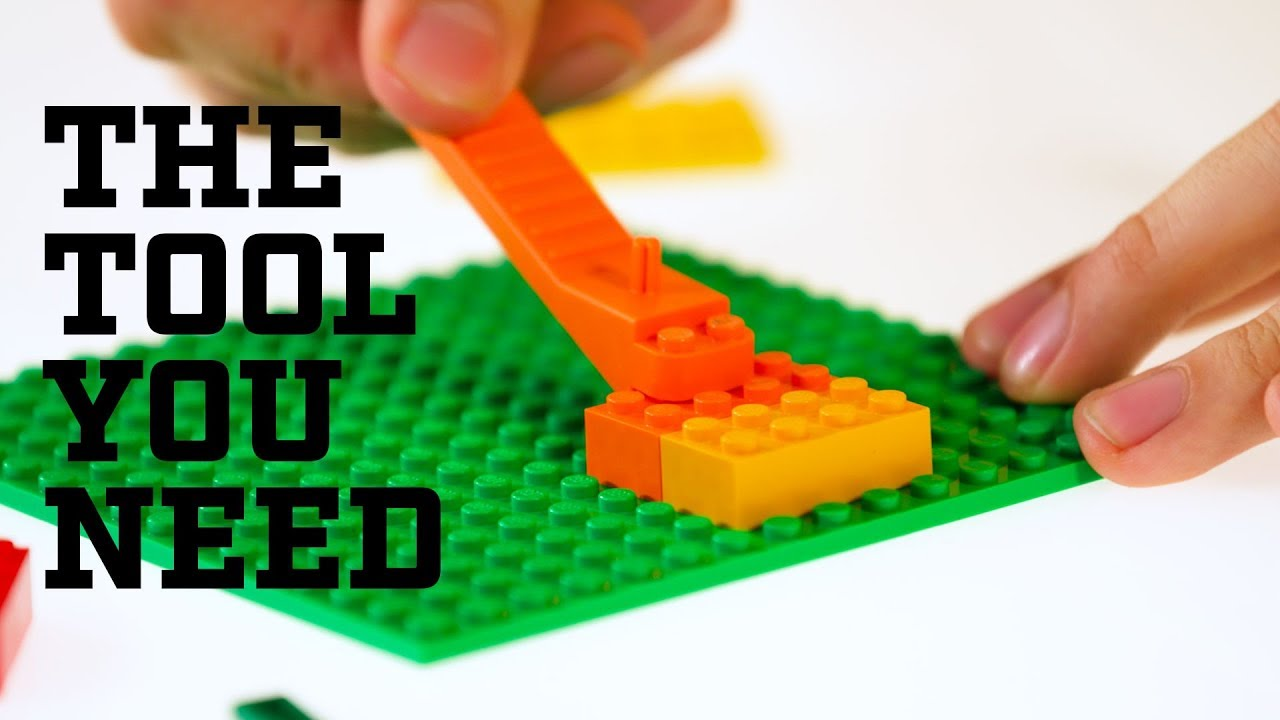 How To Use The Lego Brick Separator