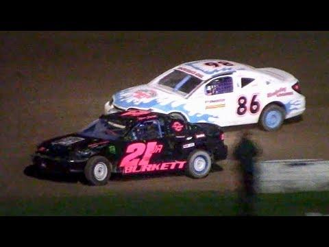 Kids Class Mini Stock Heat | McKean County Family Raceway | 9-28-18