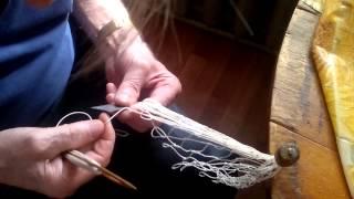 урок плетения сети моим дедом