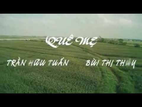 KARAOKE Quê Mẹ (Full Beat) Bùi Thị Thúy - Trần Hữu Tuấn | Tuyệt Đỉnh Song Ca 2016