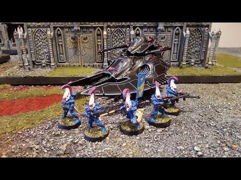 Space Marine Gladius Strike Force vs Eldar. Warhammer 40k battle report