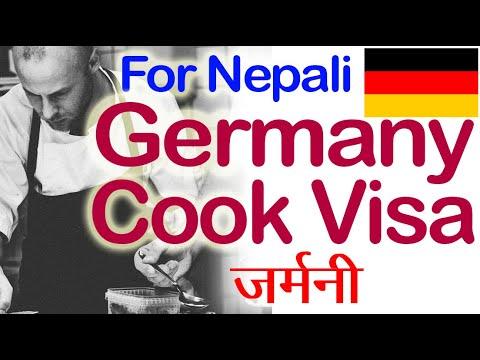 Cook Visa For Nepali In Germany.