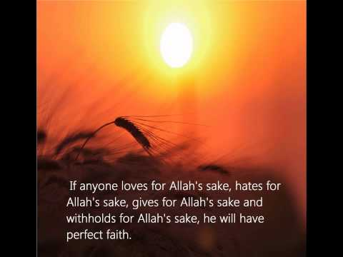 Quotes from Quran and Hadith - YouTube