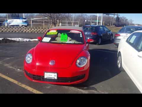 2014 Volkswagen Beetle Convertible Frank Boucher Kia Mazda Volkswagen