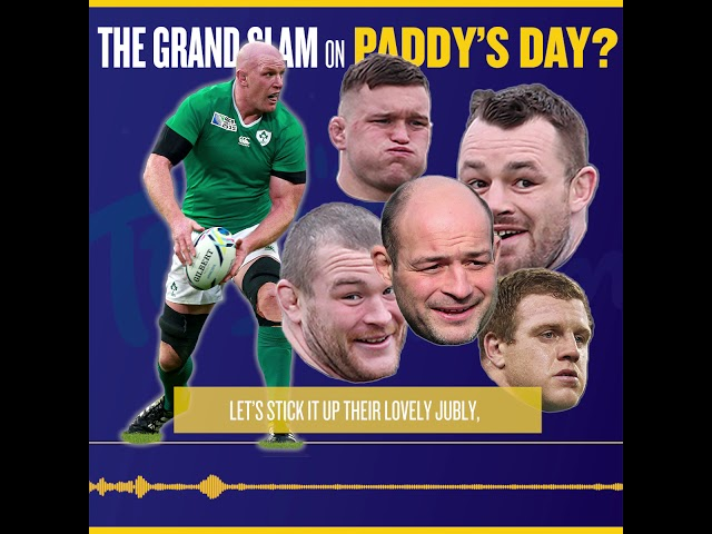 The Grand Slam on Paddy's Day? - Gift Grub