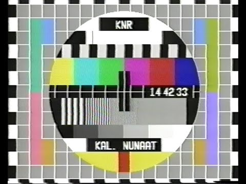 TV-DX KNR Greenland, opening, news and weather 10.10.2002
