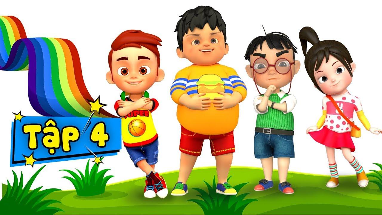 Bé không nên nói dối - Kỹ năng sống cho bé qua nhạc thiếu nhi ♥ Phim hoạt hình thiếu nhi - Tập 4