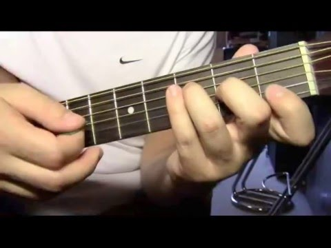 Easy song Tom Petty Learning to fly guitar lesson - YouTube