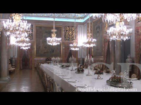 Los secretos de los almuerzos de gala en el Palacio Real