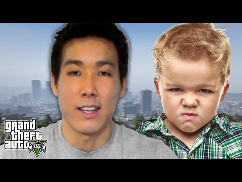KID SAYS HE'S VANOSSGAMING IN GTA 5 ONLINE (TROLLING IN GTA 5 Online Funny Moments) #gta5