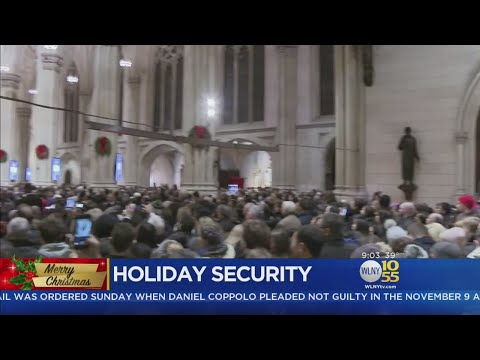 Tight Security At St. Patrick's Cathedral