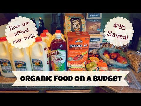 Organic Food On A Budget + How We Afford Raw Milk | Co-Op Grocery Haul