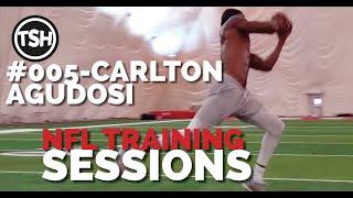NFL Training Sessions #005   4.6.19   Carlton Agudosi (Philadelphia Eagles)