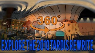 11th Doctor's Tardis in 360 Degrees (Explore Matt Smith's Tardis)