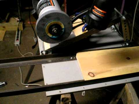 Homemade Surface Grinder - YouTube
