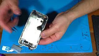 Iphone 4S ЗАМЕНА ДИСПЛЕЯ И ПОДРОБНАЯ РАЗБОРКА