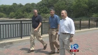 Art Kohn reports on senators touring Newport News Shipbuilding