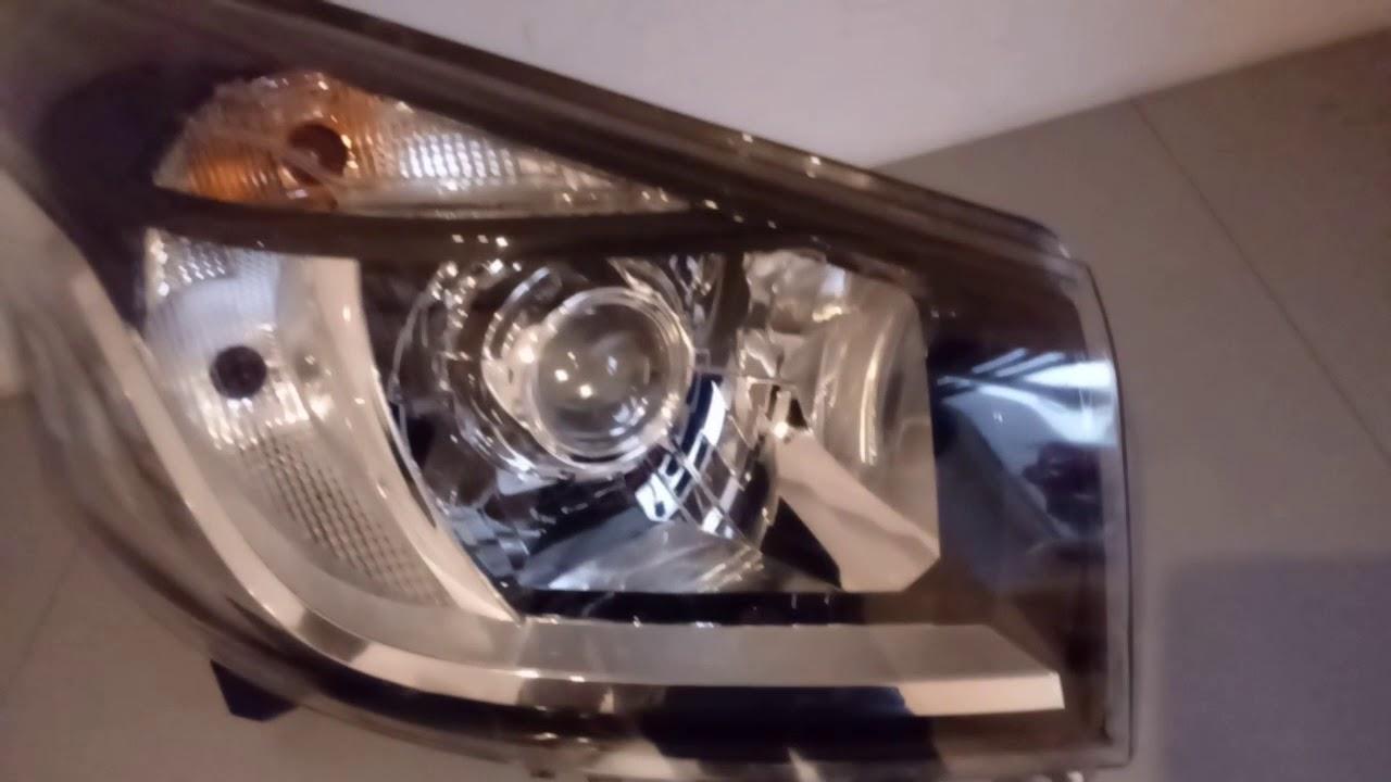 Vivaro Renault Trafic LEDs Headlamps Light Canbus Error Free Mega White Bulbs