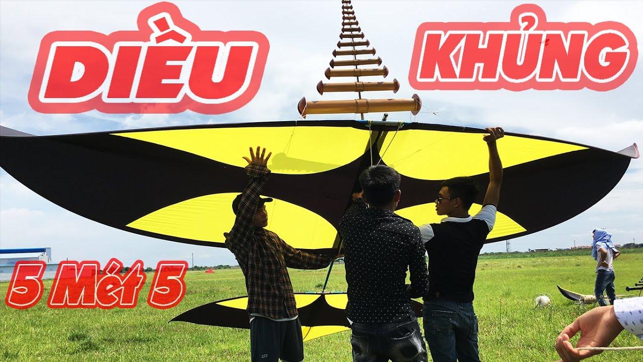 Thả Siêu Phẩm phối màu 5m5 Cùng bộ hòa đàn D76 âm Tuyền Lê cực phê   Graint kites   Phuong PV