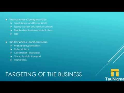 Financial plan Taunigma -  Business in (UAE) (English version)