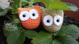 Amigurumi Tutorial Gufetto : Tutorial Gufo allUncinetto Crochet owl tutorial - ViYoutube