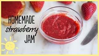 EAT | Homemade Strawberry Jam
