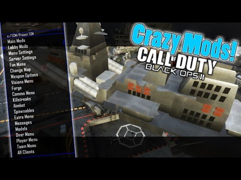 "Black ops 2 Modding reactions "" Crazy New Mods!!"""