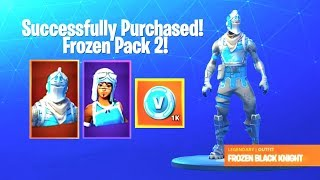 The New FROZEN LEGENDS PACK 2 Gameplay in Fortnite!