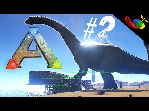 Ark Survival Evolved ITA #2 - Portiamo a casa il Nanerottolo!! - 동영상