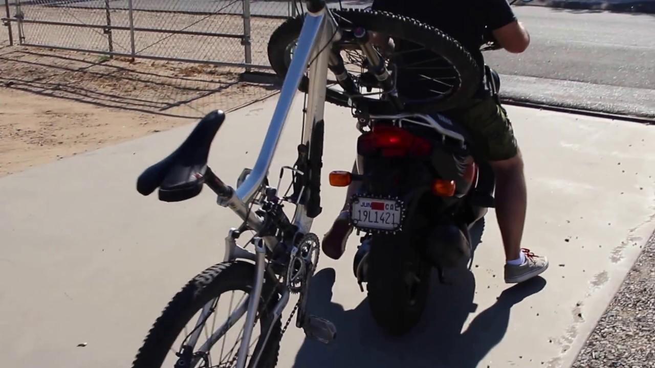Scooter Bike Rack Youtube