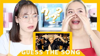 GUESS THE KPOP SONG WITH MY SISTER