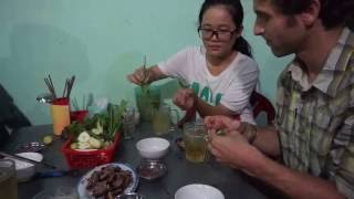 Eating Dog Meat in Can Tho, Vietnam