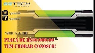 Reparo NVIDIA TESLA K80 24GB - Placa de R$30.000,00 - Fizemos o máximo possível.