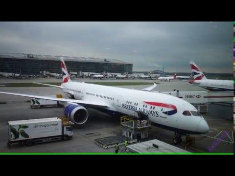 A flight on B787-9 British Airways G-ZBKF (brand new) London to Calgary
