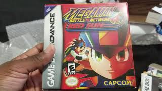 Mega Man Battle Network  4 & 5 GBA UNBOXING! | VINTAGE #MMBN COLLECTING