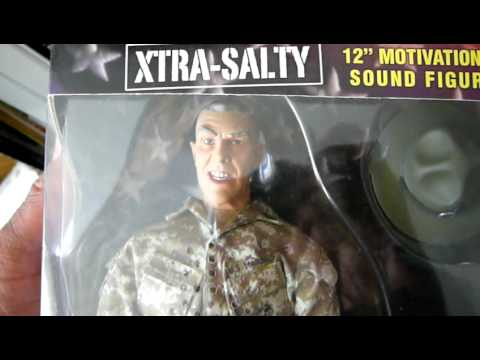 R Lee Ermey Action Figure R. Lee Ermey Talking A...