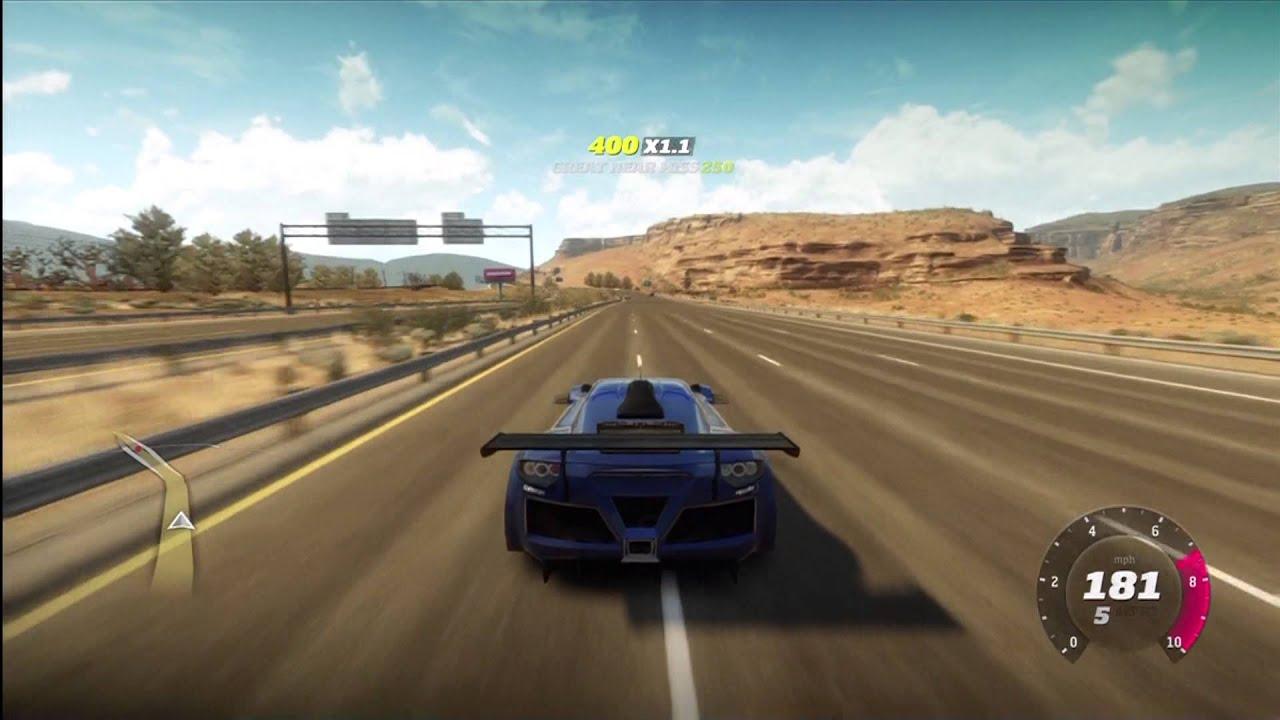 Forza Horizon - Gumpert Apollo S Gameplay - YouTube
