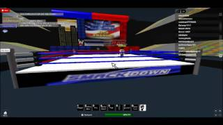 Roblox Raw Ep1 Chapter 2 Superstars And Diva Royal Rumble